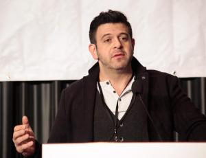 'L.A. Times Travel Show: Adam Richman dishes on eating like a local' -- Jan. 19, 2014 -- Los Angeles Times